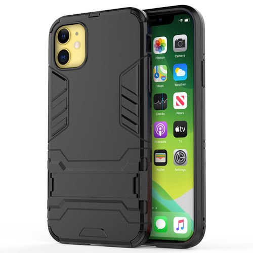 Slim Armour Tough Shockproof Case for Apple iPhone 11 - Black